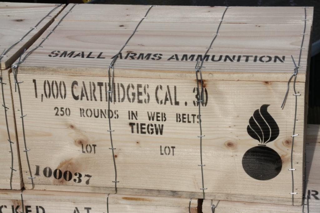 Machine Gun Ammo Box 50 Cal Machine Gun Box