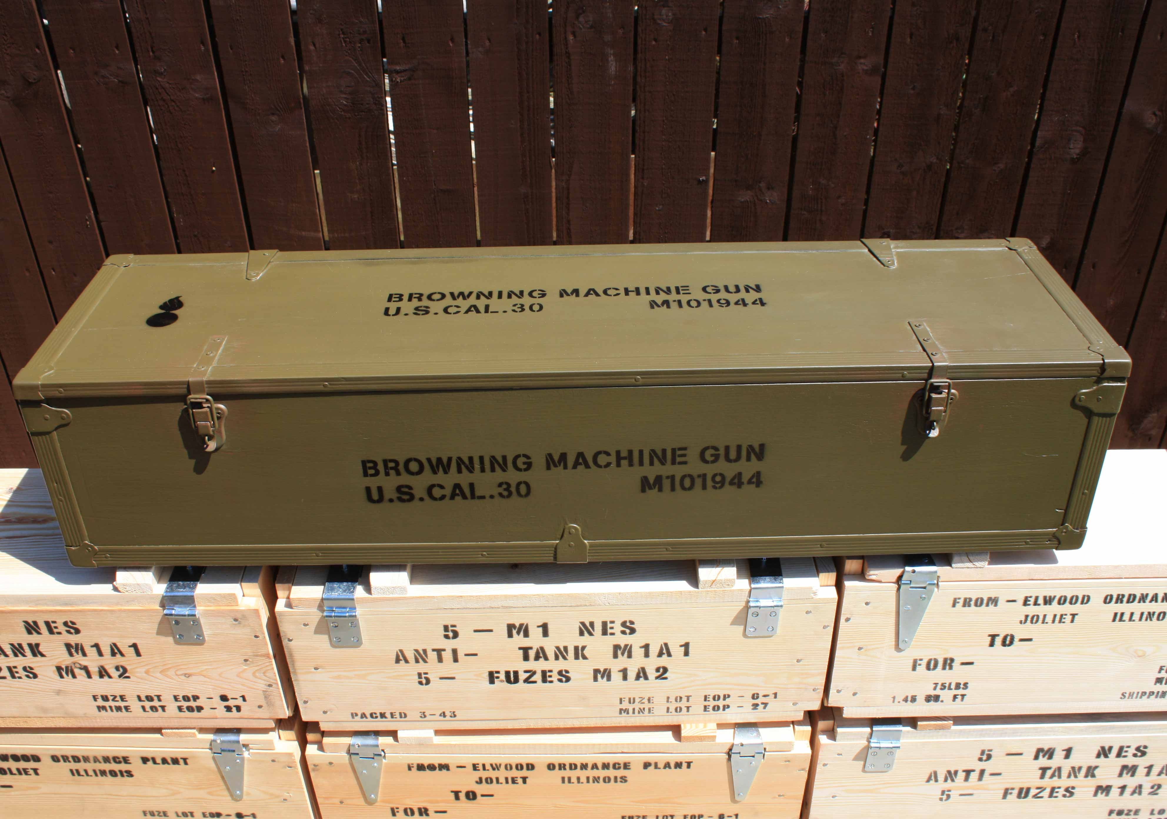 Wwii Boxes Weapon Related