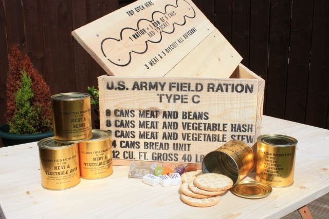 Wwii Boxes Ration Crates